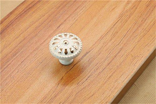 10 x 58 mm Qualité Chrome Ovale Tiroir Bouton Cuisine Placard Armoire Poignée De