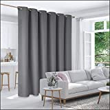 Deconovo Privacy Room Divider Curtain Thermal Insulated Blackout Curtains Screen Partition Room...
