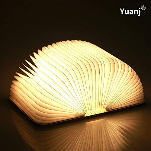 Le livre lampe pliante LED