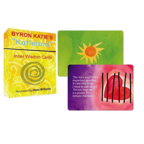 """Byron Katie's """"Katieisms"""" Inner Wisdom Cards"""