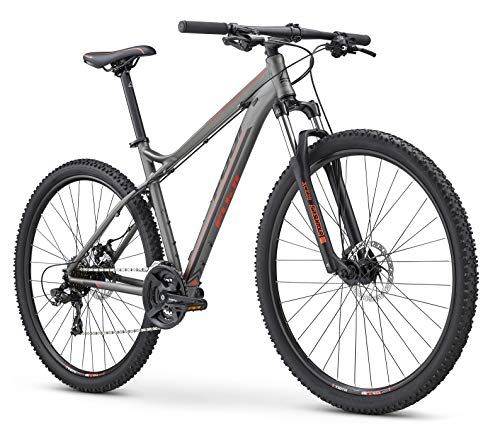 Fuji MTB Hardtail 29 Zoll Nevada 29 1.9 2019 Mountainbike Fahrrad Mountain Bike (Satin Anthracite, 53 cm)