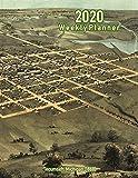 2020 Weekly Planner: Tecumseh, Michigan (1868): Vintage Panoramic Map Cover