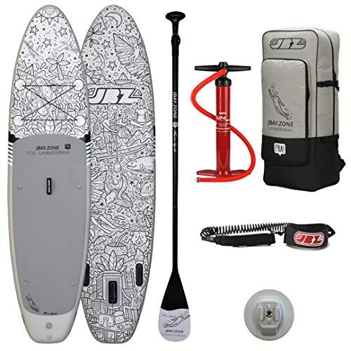 JBAY.ZONE Tabla de Stand Up Paddle Surf Sup FRA! Design Limited Edition 10'6'' Cm 320x81x15 Touring Sup Board Completa di Accessori