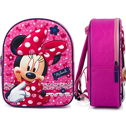 Disney Minnie Mouse 3D Kindergartenrucksack - Dotty about Dots - Rosa