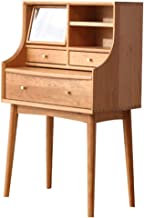 Dressing Table Cherry Wood Nordic Bedroom Furniture Net Red Ins Style Small Apartment Dressing Table