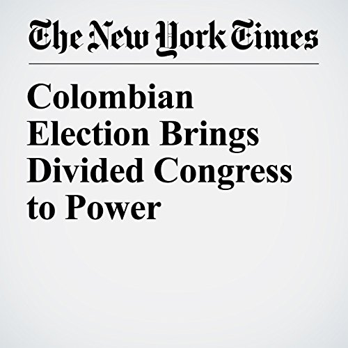 Colombian Election Brings Divided Congress to Power copertina