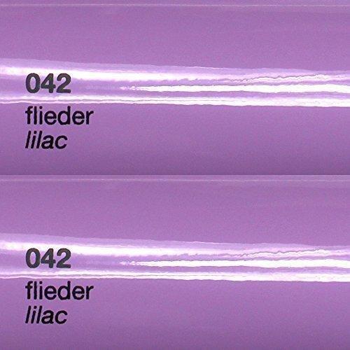 8,25€/m² Oracal 751c - 042 Flieder - Klebefolie Set - 5m x 63cm - Folie - Moebelfolie - Plotterfolie - Selbstklebend - gegossen - Cast
