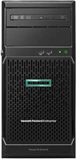 HPE Prooliant ML30 G10, PO6781-425, 1P Xeon E 2124 Quad Core 3. 30GHz, 8جيجا رام 1 تيرابايت ساتا هارد 7. 2K 1Gbe Dual Port 332i Net Work Card