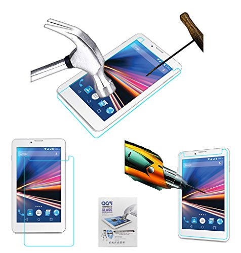 Acm Tempered Glass Screenguard Compatible with Lava Ivory S 4g Screen Guard Scratch Protector