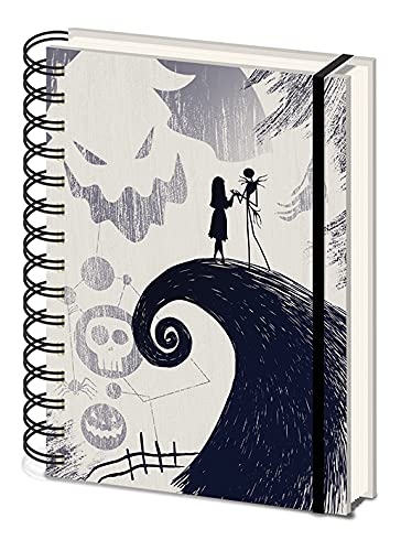 Disney The Nightmare Before Christmas - Cuaderno A5 Espiral Spiral Hill