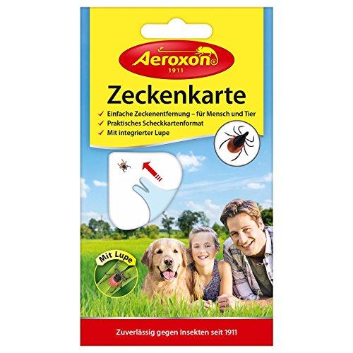 Preisvergleich Produktbild Aeroxon Insektenschutzmittel Zeckenkarte