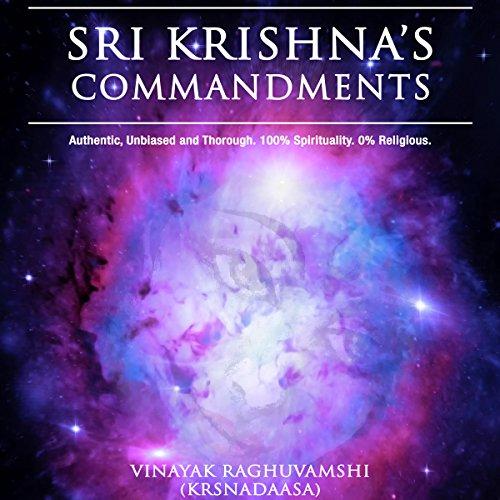 Lord Sri Krishna's Commandments audiobook cover art