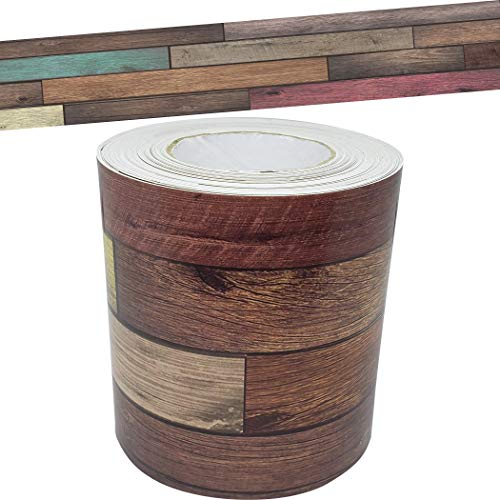 Reclaimed Wood Straight Rolled Border Trim
