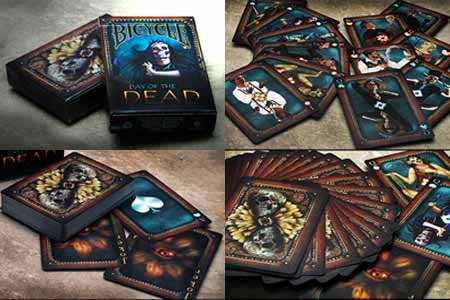 Mike Guistolise Bicycle Day of The Dead by Collectable Playing Cards - Trick