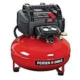 PORTER-CABLE Air Compressor, 6-Gallon, Pancake, Oil-Free (C2002-ECOM)