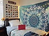 Manta mandala para colgar en la pared, manta de playa de algodón...
