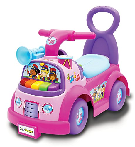 Best Buy! Fisher-Price Little People Music Parade Ride On, Pink