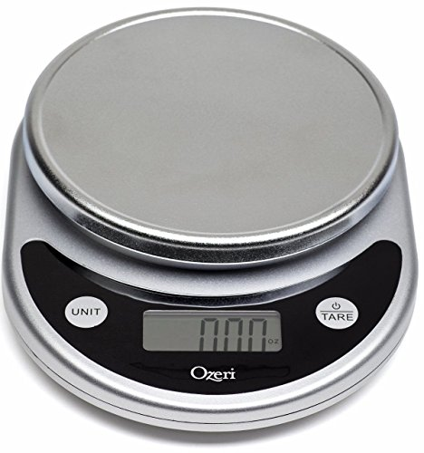 Ozeri ZK14-S Pronto Digital Multifunction Kitchen and Food Scale, Black