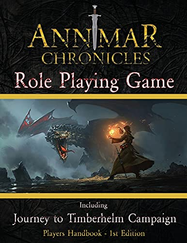 The Annmar Chronicles: Role Playing Game