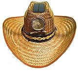 Kool Breeze Solar Fan Cowboy Hat