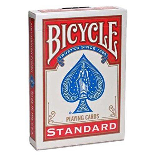 Bicycle à dos Rose Fuchsia - (Jeu de 54 cartes)