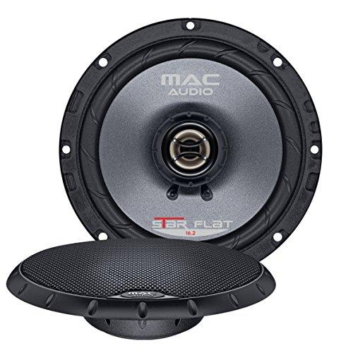Mac Audio Star Flat 16.2 - ultraflacher 2-Wege Koaxial Einbaulautsprecher, Car HiFi LS:Koaxial-165mm