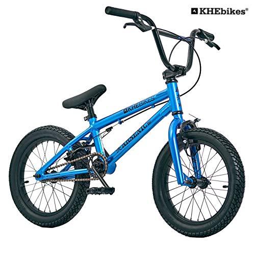 KHE BMX fiets Arsenic 16 inch blauw aluminium slechts 8,1 kg!