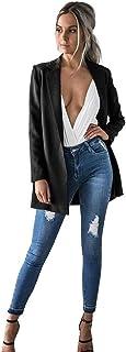 34-42 Homebaby Giacca Donna Blazer Elegante Trincea Cappotto Giacca a Vento Donna Caldo Cappotto Invernale Autunno Cardigan Maniche Lunghe Felpa Pullover Maglione Outwear