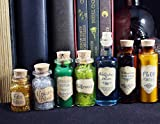 Magic Potion Christmas Ornaments - Harry Potter Inspired Bookcase Decorations