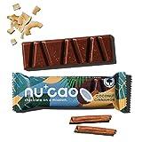 nucao Veganer Bio Superfood Riegel – Kokos Zimt
