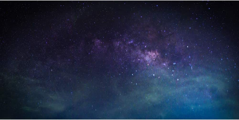 Leowefowa 15x8ft Large Vinyl Photography Backdrop Milky Way Universe Wonders Galaxy Outer Space Star Field Photo Backdrop for Party Film Event Photo Shoot Video Studio Photo Booth Props