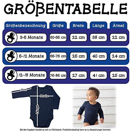 Shirtracer Up to Date Baby - Fahrrad Herz Luftballons - weiß/rot - 3/6 Monate - Navy Blau - Body Baby rot weiß - BZ30 - Baby Body Langarm