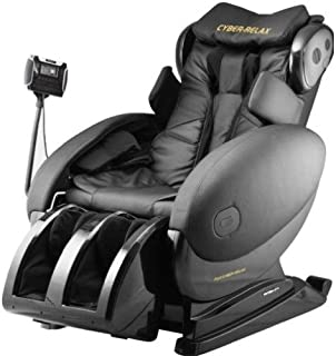 Fujiiryoki FJ-4300 Dr. Fuji Cyber-Relax Massage Chair in Black with Four Rollers Massage Mechanism and Smart Touch Design, Optocoupler detection device, Newly developed four rollers massage mechanism with width of 6 to 20cm; Based on this, shoulder optocoupler detection device has been added to make accurate and reliable shoulder detection