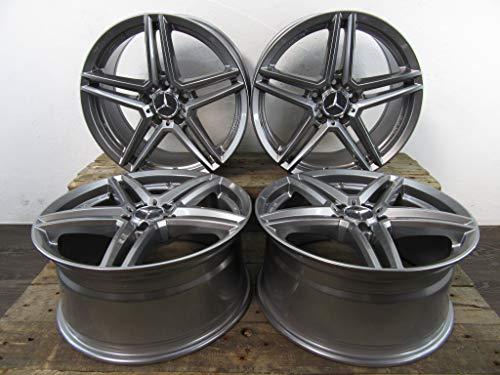 4 llantas de aluminio RIAL M10 de 18 pulgadas para A 176 B 246 C 205 204 CLA AMG GLA E 212 Vito 638