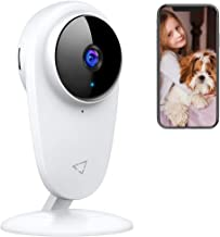 Victure Baby Monitor Pet WiFi Camera 1080P 2.4Ghz Indoor Camera with Night Vision Motion Detection Two Way Audio for Baby/Pet/Nanny Monitor