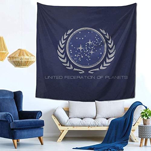 Star Trek United Federation of Planets Flag फैशन आंतरिक सजावट बहुक्रियाशील बेडरूम व्यक्तित्व उपहार इनडोर दीवार फांसी कक्ष पर्दा उपहार दीवार सजावट