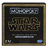 Monopoly: Star Wars Complete Saga Edition Board Game for Kids Ages 8 &...