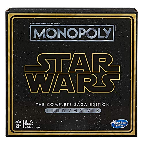 Monopoly Star Wars Complete Saga Edition Board Game Only $19.99 (Retail $31.49)