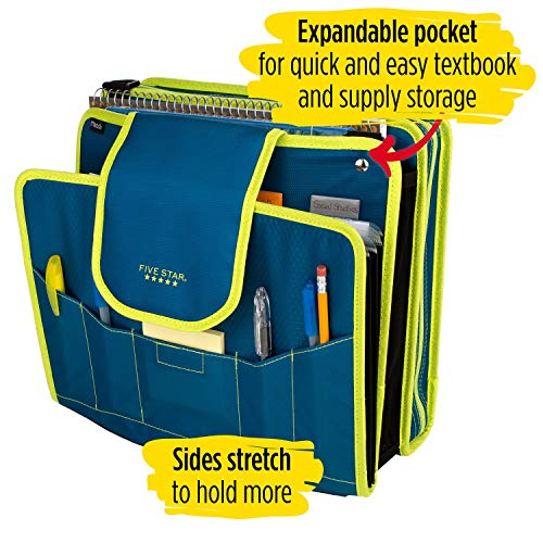 Five Star Sewn Zipper Binder, 2 Inch 3 Ring Binder With 4 Inch Capacity, Assorted Colors, Color Selected For You, 1 Count (28044) Photo #24