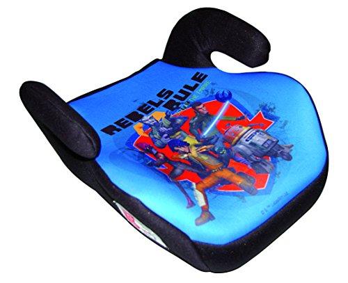 HiTS4KiDS - Kindersitzerhöhung, Auto-Sitzerhöhung, Kindersitz, 15-36kg, 3-12 Jahre, Gruppe 2-3, ECE R44/04 geprüft, Disney Rebels Clone Wars