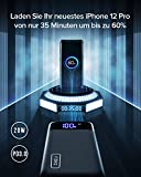 INIU Powerbank, 20W PD3.0 QC4.0 Schnelles Aufladen 20000mAh LED Display Externer Akku, Tri-Outputs USB C Power bank Kompatibel mit iPhone Samsung Huawei Xiaomi Oppo iPad Tablet und mehr [2021 Version] - 4
