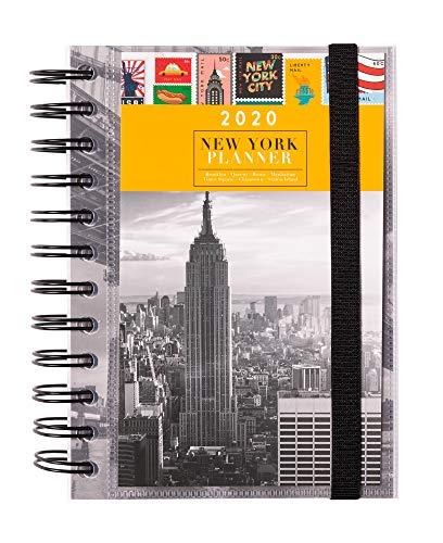 Erik® - Agenda annuale 2020, giornaliera, multiuso: scuola, casa, lavoro, 11,4x16 cmo - New York