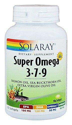 Super Omega 3-7-9 120 cápsulas de Solaray