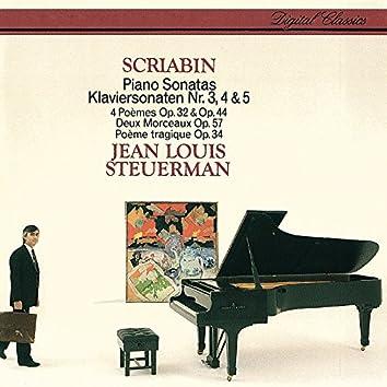 Scriabin: Piano Sonatas Nos. 3-5 etc