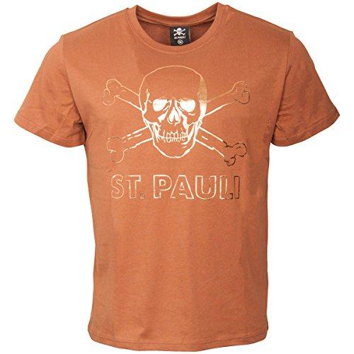 FC St. Pauli–Camiseta para Hombre Calavera Copper
