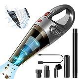 NOSSER Handheld Vacuum, Li-ion Hand Vacuum Portable Cordless Rechargeable Pet Hair Vacuum Cleaner for Car & Household
