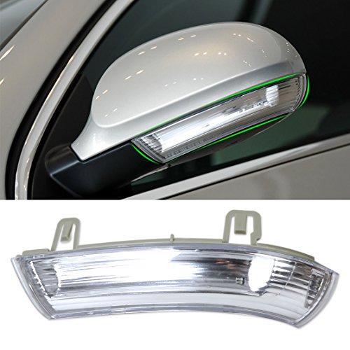 1K0 949 101 Left side & Right side mirror turn signal signal light 1K0949101 Replacement for 2003-2012 VW GOLF MK5 2002-2008 Skoda SUPERB 1K0949102 1K0 949 102