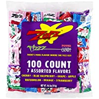 100-Count Zotz Fizzy Candy Bag Assorted Flavors