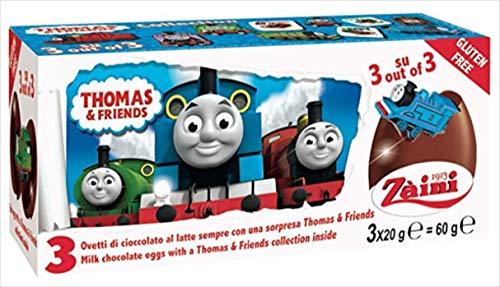 トーマス チョコレートエッグ 3P