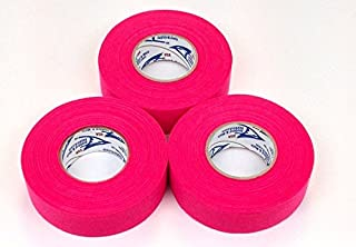 hot pink hockey tape